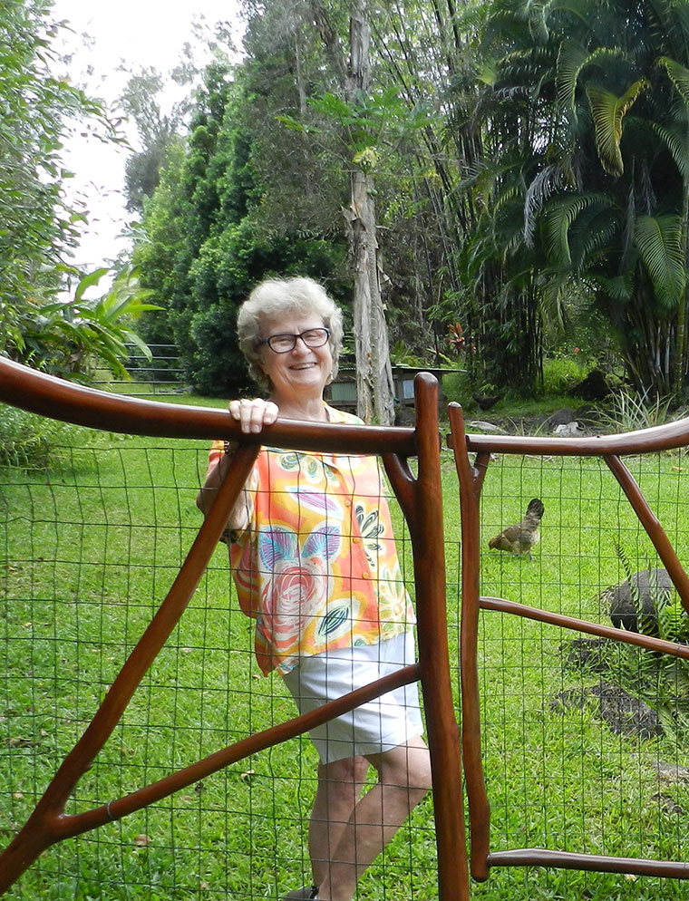 Susan at the gate